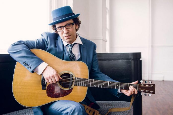 Toronto-based singer-songwriter Jory Nash, who has just released his nine album, will be opening for Irish Mythen at the Market Hall in Peterborough on November 21, 2018. (Publicity photo)
