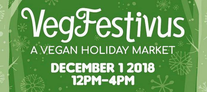Vegfestivus is a new vegan holiday market with 25 vendors. (Photo: Peterborough Vegfest)