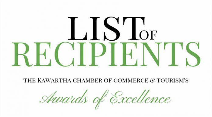 List of recipients