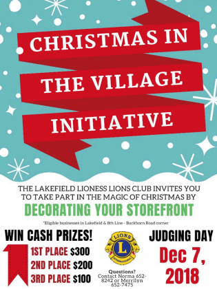Christmas Storefront Decorating Contest