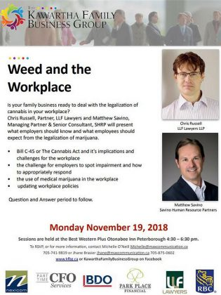 Weed and the Workplace Information Session