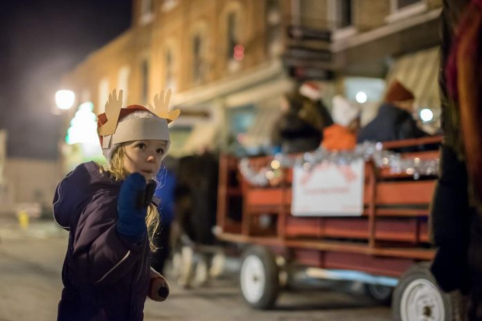 Horse-drawn wagon rides will be available from 5 to 9 p.m. during Christmas In The Village.  (Photo: Marjorie McDonald)