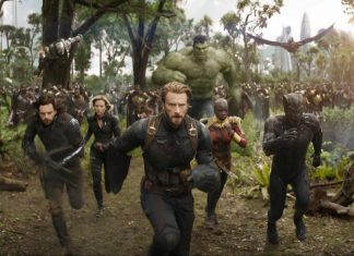 """Marvel Studios' Avengers: Infinity War"", starring almost every Marvel superhero battling the plans of intergalactic despot Thanos (Josh Brolin) to destroy half of the life in the universe, comes to Netflix Canada on Christmas Day. Pulling in more than $2 billion at the box office worldwide, the movie was the highest-grossing film of 2018. (Photo: Marvel Studios)"