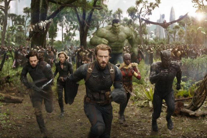"""""""Marvel Studios' Avengers: Infinity War"""", starring almost every Marvel superhero battling the plans of intergalactic despot Thanos (Josh Brolin) to destroy half of the life in the universe, comes to Netflix Canada on Christmas Day. Pulling in more than $2 billion at the box office worldwide, the movie was the highest-grossing film of 2018. (Photo: Marvel Studios)"""