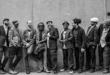 Warm up your weekend with Toronto's modern roots reggae band The Human Rights, who perform at the Red Dog in downtown Peterborough on Friday, November 23rd. (Publicity photo)