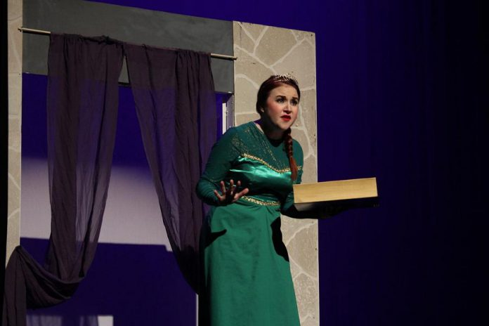 Elizabeth Moody is perfectly cast as the sometimes sweet and sometimes ferocious Princess Fiona. (Photo: Nate Axcell)