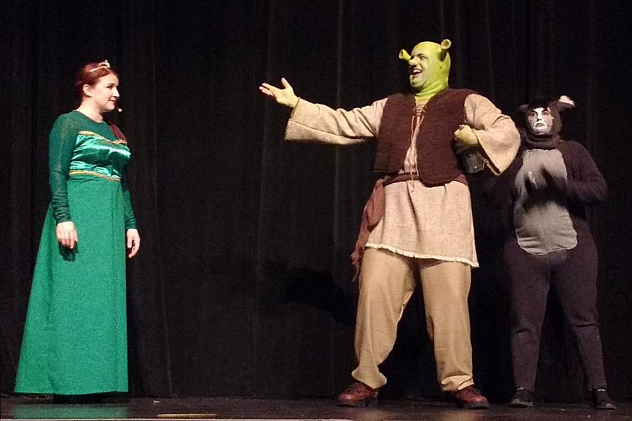 Charming And Fun Shrek The Musical Contains Uplifting Message Of Unity And Acceptance Kawarthanow