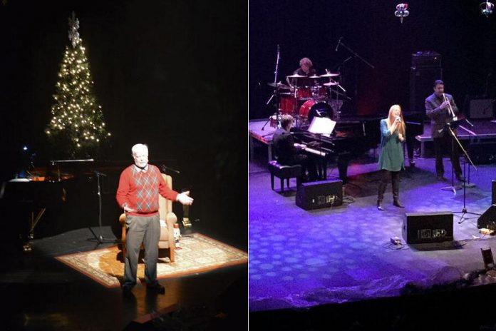 Master storyteller Hugh Foley, left, and Colleen Anthony (Foley), right, will perform at A Cozy Christmas. (Supplied photos)