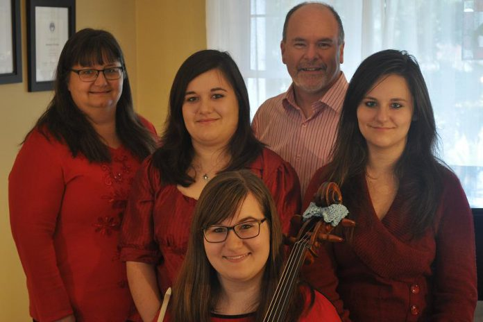 The Kraus family will perform at at A Cozy Christmas. (Supplied photos)