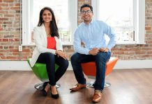 Sana Virji and Ribat Chowdhury, co-founders of Ribitt, which has recently raised $600,000 in seed round funding for an additional expansion of the company's free mobile rewards app to businesses across Canada. (Photo: Ribitt)