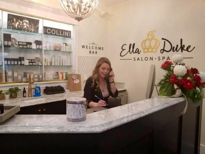 Ella & Duke is a new salon and spa in Peterborough. (Photo: Ella & Duke Salon and Spa / Facebook)