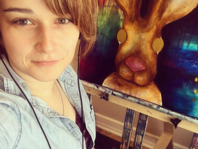 Peterborough artist Brianna Gosselin is closing her creative workshop studio in December to pursue her art full time. (Photo; Brianna Gosselin)