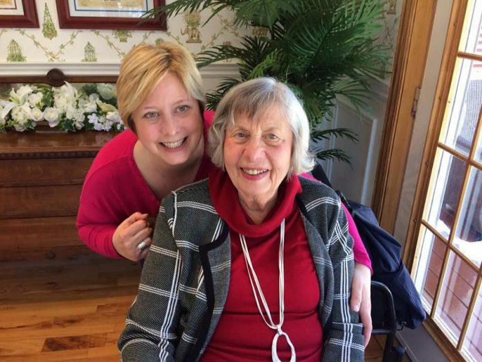 Elizabeth Healey was inspired to launch MyDaughter Life Enrichment Service after helping her own mother in an independent living retirement home. (Photo: Elizabeth Healey)