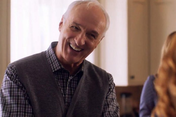 """Christmas Pen Pals"",  based on a screenplay written by Peterborough native Carley Smale, also stars Michael Gross, best known for his role on the TV series ""Family Ties"". (Supplied photo)"