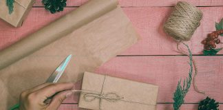 Rethinking your gift wrapping to include natural, recyclable, compostable, and reusable items like pine cones, twine, and kraft paper will help you to reduce holiday waste and your environmental impact this holiday season.