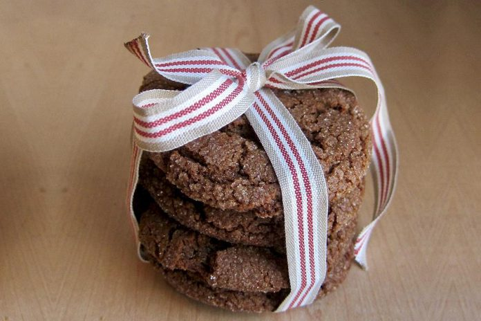 As well as crisp and buttery shortbread, these large and soft spiced ginger cookies are another festive favourite from the Hard Winter Bread Company. (Photo: Hard Winter Bread Company)