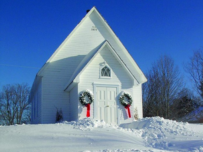 Dark Winter's Feast will be held in this historic chapel, located on the Viamede Resort grounds. (Photo: Viamede Resort)