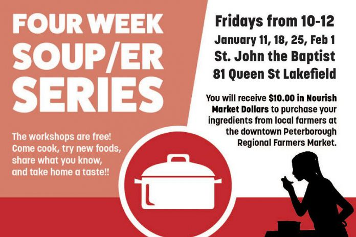 Nourish's Soup/er Series comes to Lakefield this January. (Graphic: Nourish)