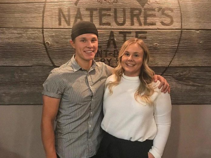 Siblings Nate and Danielle White officially opened their new restaurant, Nateure's Plate, on Decenber 11th. (Photo:  Nateure's Plate)