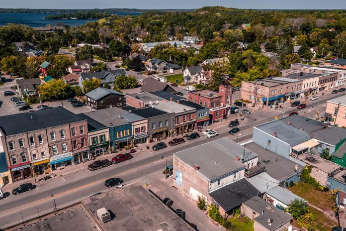 The goal of the City of Kawartha Lakes' Million Dollar Makeover is to make a visible difference in the downtown areas of Fenelon Falls (pictured), Lindsay, Omemee, Coboconk, and Norland, by providing financial assistance to local business and property owners to make their buildings more attractive and accessible. Another objective is to increase the inventory of affordable rental housing units. (Photo courtesy of the City of Kawartha Lakes)