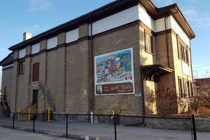 Designed and painted by artist Russ Gordon, the mural is located on the west-facing wall of Coronation Hall. (Photo courtesy of City of Kawartha Lakes)