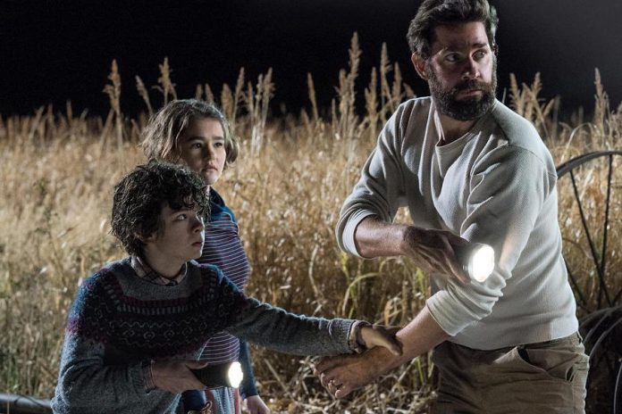 """Shh! The post-apocalyptic horror-thriller """"A Quiet Place"""", directed by and starring John Krasinski (The Office, 13 Hours, Jack Ryan), is coming to Netflix Canada on January 2nd. (Photo: Paramount Pictures)"""