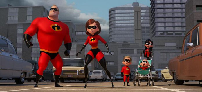 The Incredibles 2 is coming to Netflix Canada on January 30th. (Pnoto: Disney-Pixar)