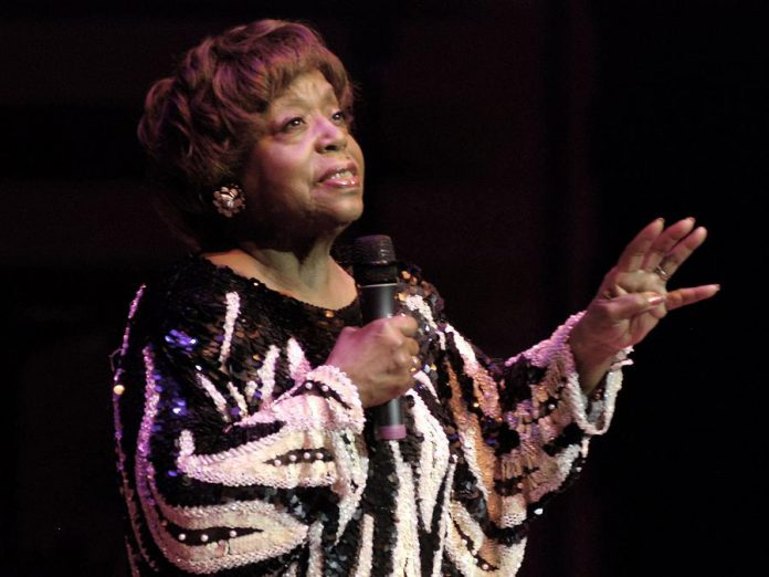 Legendary singer Ada Lee, who lived in Peterborough from 1967 until 2014, will be presented with the key to the City of Peterborough by Mayor Diane Therrien at the official proclamation of Black History Month in Peterborough on February 1, 2019. (Photo: Toronto Blues Society)