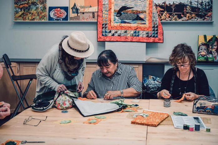 Artspace is hosting an appliqué workshop with artist Alice Olsen Williams on February 9, 2019. (Photo courtesy of Artspace)