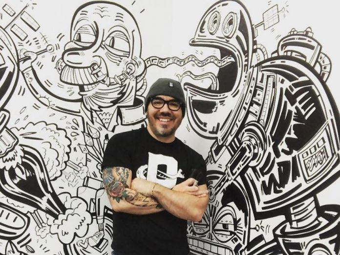 Talented illustrator Jason Wilkins is opening his studio to the public on February 1, 2019. (Photo: @firstfridayptbo / Instagram)