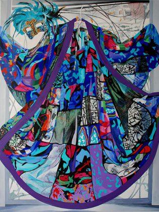 'Margaret's Dress' by Jane Eccles. (Photo courtesy Visual Arts Centre of Clarington)