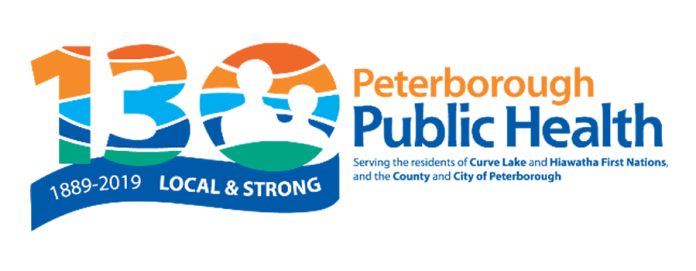 First established in 1889, Peterborough Public Health is celebrating its 130th anniversary in 2019. (Graphic:  Peterborough Public Health)