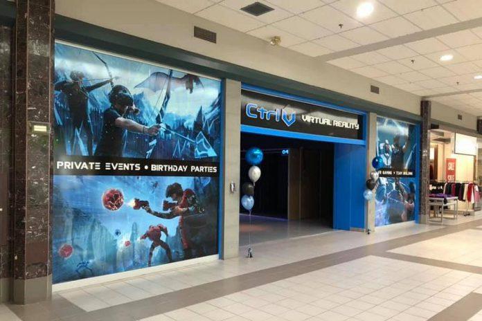 The Ctrl V virtual reality arcade at Lindsay Square Mall. (Photo: Ctrl V)