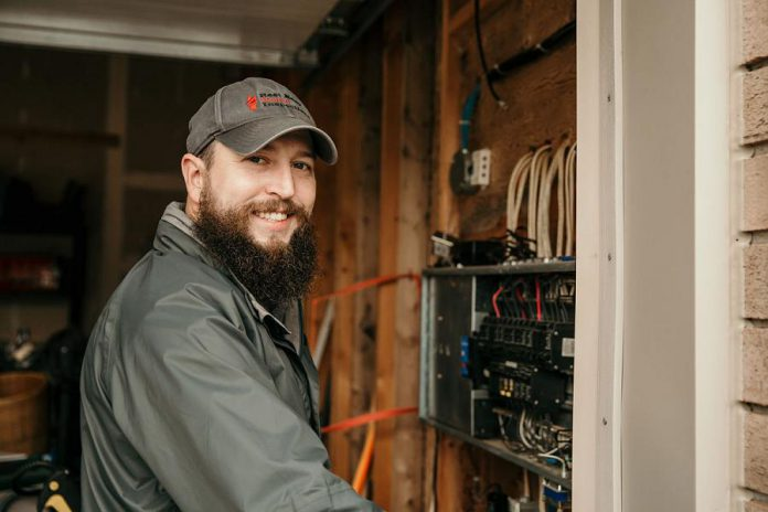 Jay McArthur, owner of Rest Easy Home Inspections in Brighton. (Photo: Prince's Trust Canada)