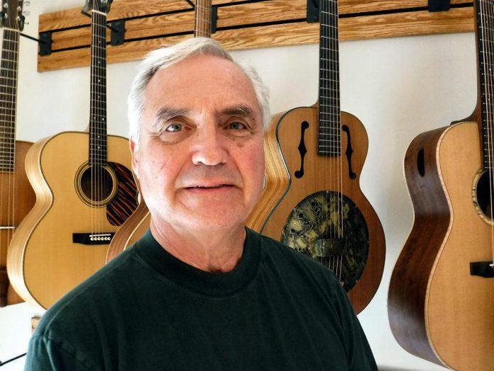 Russ Parker of RGP Guitars. (Photo courtesy of Russ Parker)