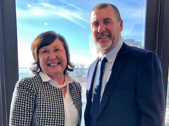 Jennifer Murphy and Andy Letham are the Vice-Chair and Chair of the 2019  Eastern Ontario Wardens' Caucus. (Supplied photo)