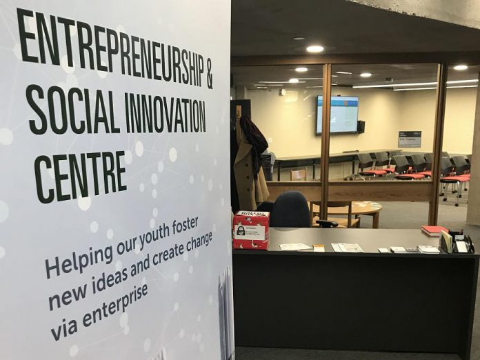 The Entrepreneurship and Social Innovation Centre at Trent University. (Photo courtesy of Innovation Cluster)