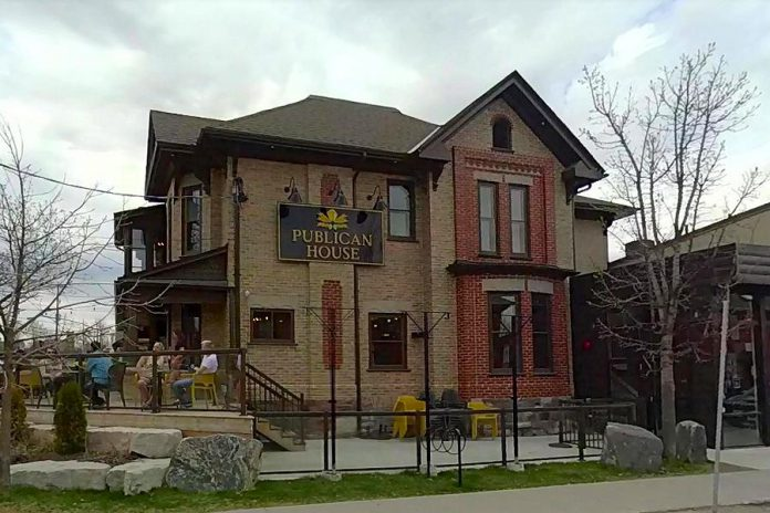 The former Peterborough Arms building now occupied by Publican House Brewery (300 Charlotte St.) is one of 411 properties the City of Peterborough's heritage resources coordinator is recommending be added to the city's heritage register. (Photo: Google Maps)