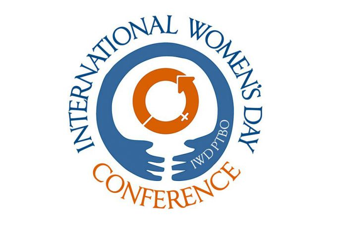 The third annual International Women's Day Conference in Peterborough takes place from 8 a.m. to 4 p.m.  on Friday, March 8th at Ashburnham Reception Centre.