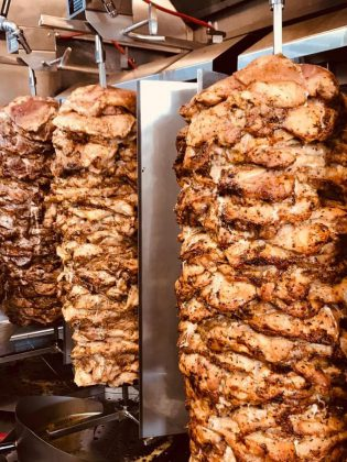 Messini's Gyros and Grill offers a full European menu, including chicken, pork, and lamb and beef gyros. (Photo: Messini's Gyros and Grill)