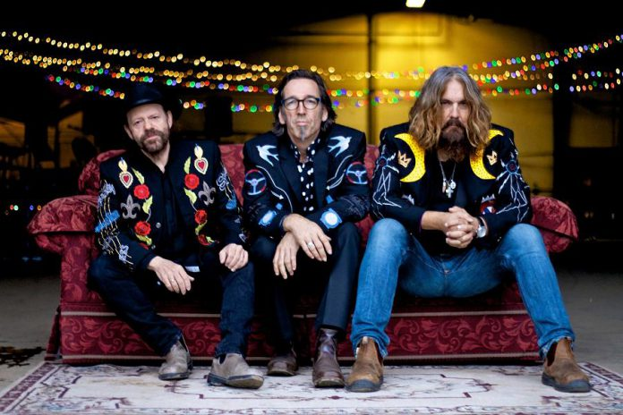 Colin Linden, Stephen Fearing, and Tom Wilson of Blackie and the Rodeo Kings. The band is working on a new record in 2019, according to Wilson. (Publicity photo)