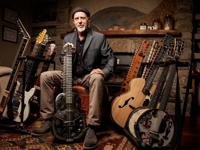 Folk Under the Clock presents Harry Manx, with special guest Steve Marriner of MonkeyJunk, at Market Hall Performing Arts Centre on Sunday, January 20, 2019. (Publicity photo)