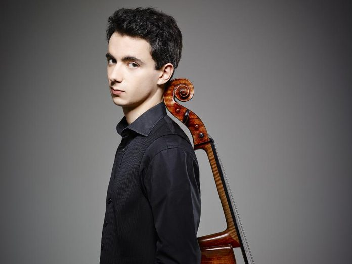 "Cellist Stéphane Tétreault has three times been ranked as one of CBC Radio's ""30 Hot Canadian Classical Musicians Under 30"", in addition to countless awards and honours. He performs with the Peterborough Symphony Orchestra during the ""Classical Roots"" concert on February 2, 2019 at Showplace Performance Centre in downtown Peterborough. (Photo: Luc Robitaille)"