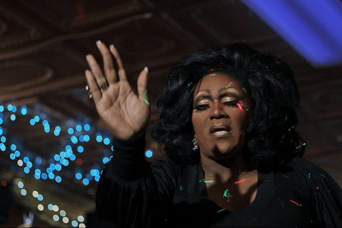 """ReFrame volunteer Tes Nasca recommends the documentary """"Gospel of Eureka"""", a joyful film about a Bible Belt town in the U.S. that embraces both religious and drag pageantry. (Photo: Wishbone Films)"""