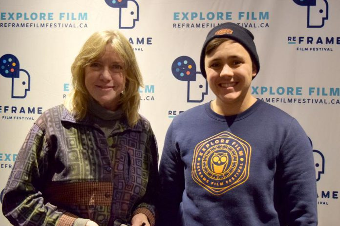 Julie Otto is volunteering at ReFrame for the first time this year, while Tes Nasca began volunteering for ReFrame four years ago. (Photo courtesy of ReFrame)