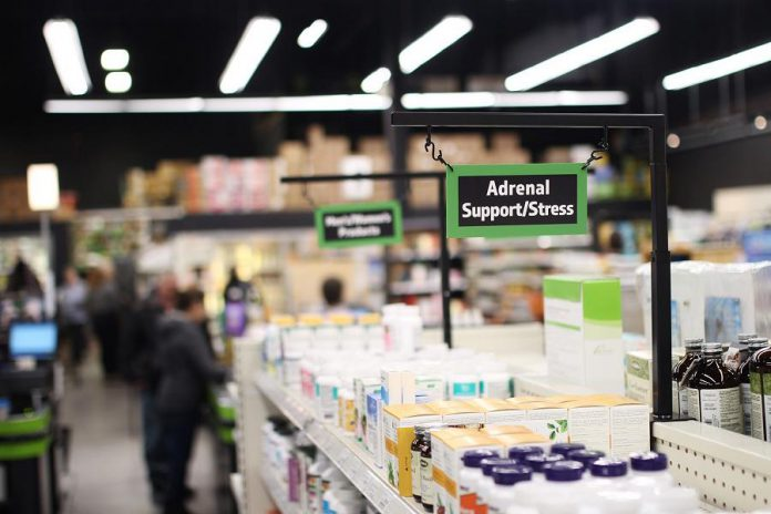 Jo Anne's Place offers a wide range of health supplements and vitamins, natural cosmetics and body care products, foods including organic fruit and vegetables and gluten-free products, and more. (Photo courtesy of Julia Luymes / Jo Anne's Place)