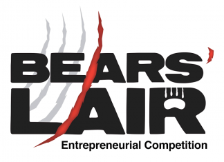 The deadline to apply for the 2019 Bears' Lair Entrepreneurial Competition is February 26, 2019.