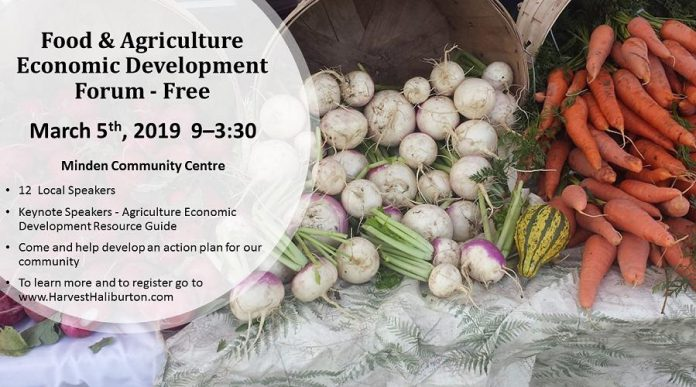 Harvest Haliburton Food and Agriculture Economic Development Forum