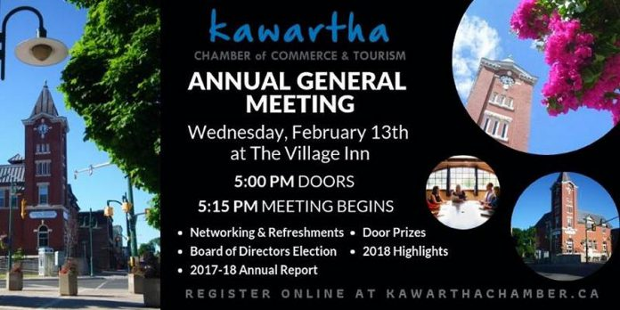 Kawartha Chamber of Commerce and Tourism AGM