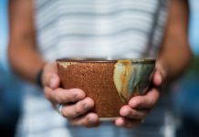 The annual YWCA Empty Bowls fundraiser takes place on March 1, 2019. You can enjoy lunch as well as your choice of a hand-crafted bowl or a charitable tax receipt. Proceeds will support JustFood and Nourish, local food programs that look at the root causes of poverty, promote equity, and provide connection. (Photo courtesy of YWCA Peterborough Haliburton)